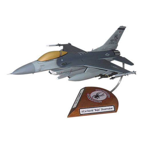 421 FS F-16C Custom Aircraft Model