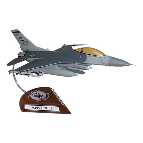 421 FS F-16C Custom Aircraft Model  - View 2