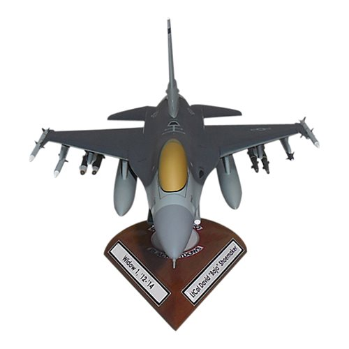 421 FS F-16C Custom Aircraft Model  - View 3