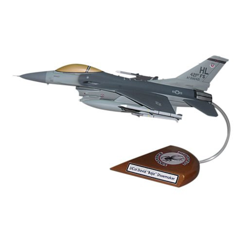 421 FS F-16C Custom Aircraft Model  - View 4