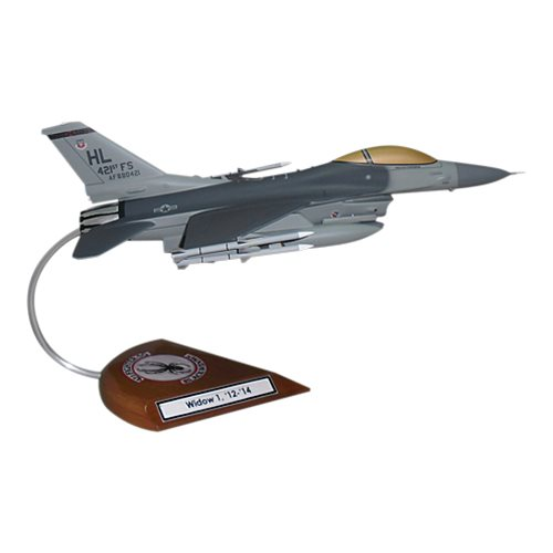421 FS F-16C Custom Aircraft Model  - View 5