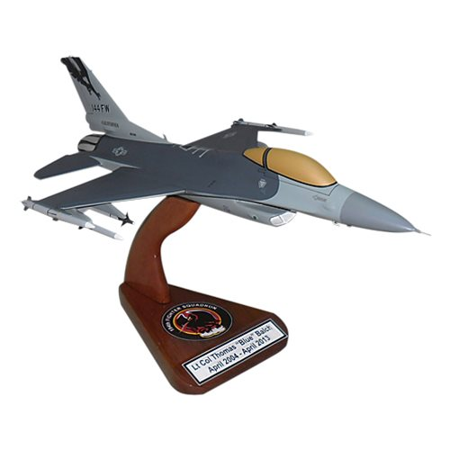 194 FS F-16C Custom Aircraft Model  - View 2