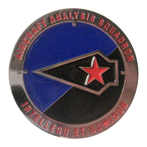 Aircraft Analysis Squadron Challenge Coin