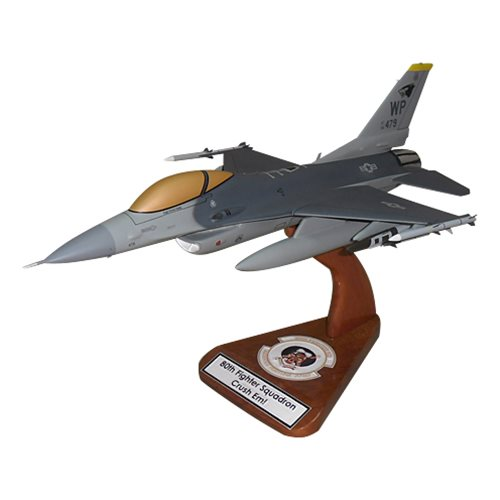 80 FS F-16C Custom Aircraft Model