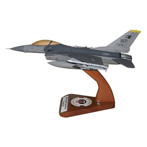 80 FS F-16C Custom Aircraft Model  - View 2