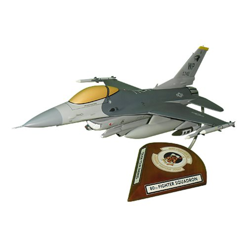 80 FS F-16C Custom Aircraft Model  - View 7