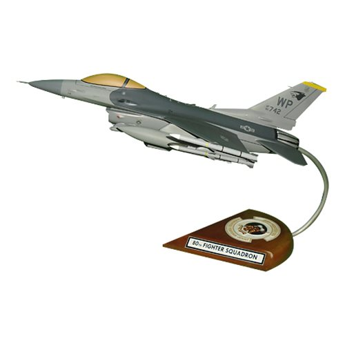 80 FS F-16C Custom Aircraft Model  - View 8