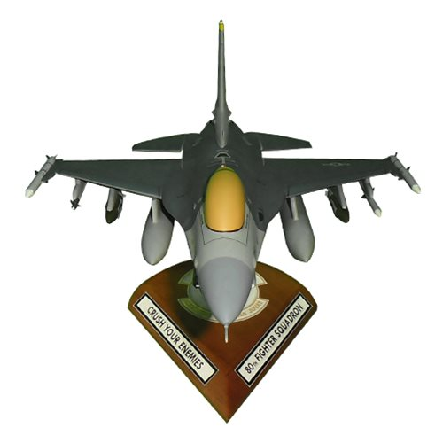 80 FS F-16C Custom Aircraft Model  - View 9