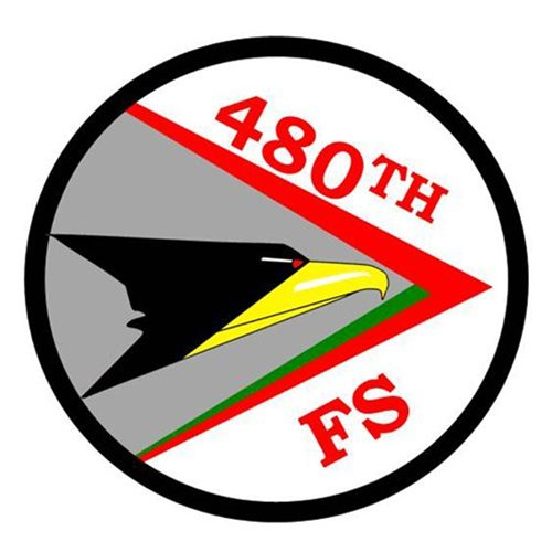 480 FS F-16C Custom Aircraft Model