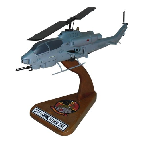 HMLA-167 AH-1 Custom Helicopter Model
