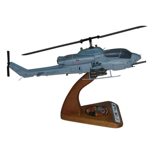 HMLA-167 AH-1 Custom Helicopter Model  - View 3