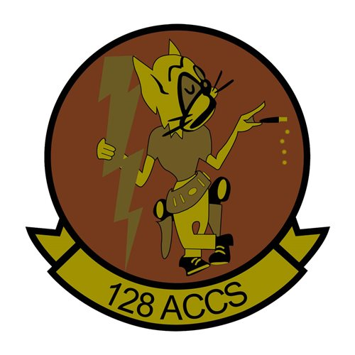128 ACCS OCP Patch128 ACCS ANG Georgia Air National Guard U.S. Air Force Custom Patches