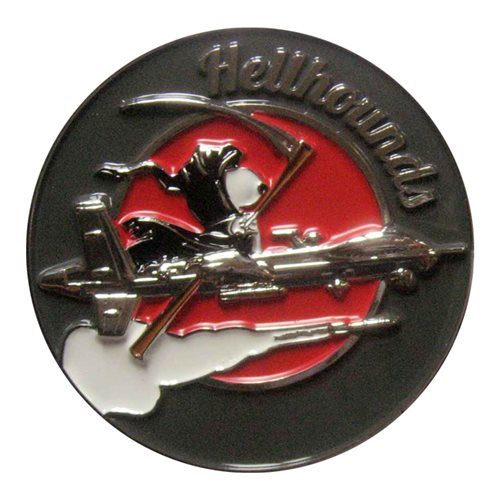 20 ATKS Hellhounds Challenge Coin - View 2