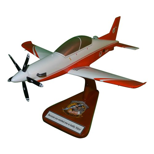 Republic of Singapore Air Force Pilatus PC-21 Custom Airplane Model
