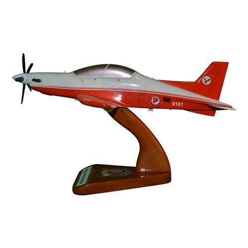 Republic of Singapore Air Force Pilatus PC-21 Custom Airplane Model  - View 2