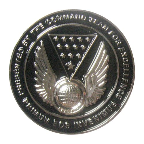 13 IS Commander Challenge Coin - View 2
