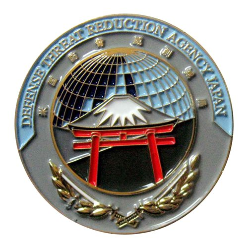 Defense Threat Reduction Agency Japan Challenge Coin - View 2