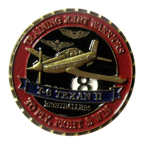 8 FTS Challenge Coin