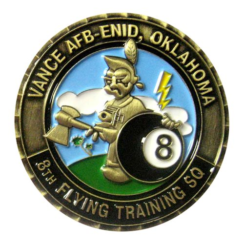 8 FTS Challenge Coin - View 2