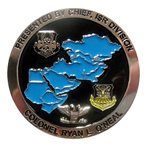 609 AOC Chief Col Ryan O'Neal Coin Challenge Coin