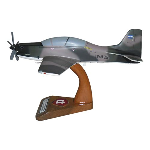 Honduran Air Force A-29 Tucano Custom Airplane Model  - View 2