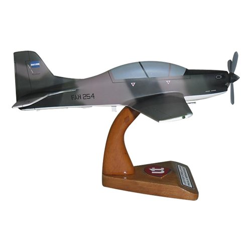 Honduran Air Force A-29 Tucano Custom Airplane Model  - View 3