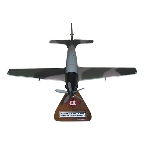 Honduran Air Force A-29 Tucano Custom Airplane Model  - View 4