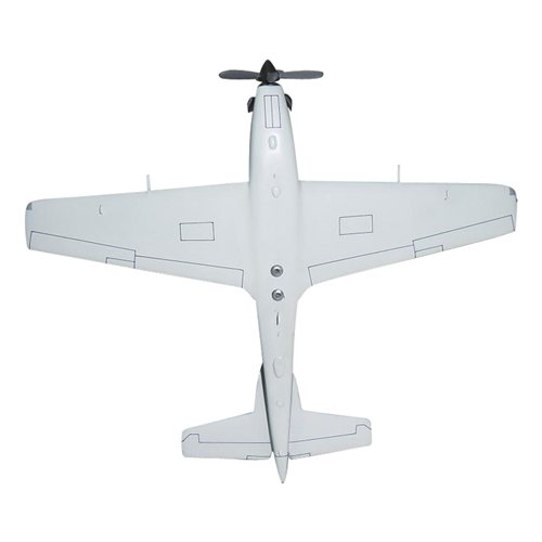 Honduran Air Force A-29 Tucano Custom Airplane Model  - View 6