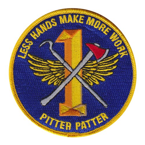 USS Nimitz Watch Team 1 Patch