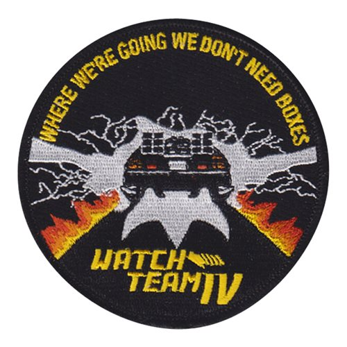 USS Nimitz Watch Team 4 BTF Patch