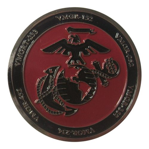 VMGR KC-130 Battleherk Coin - View 2