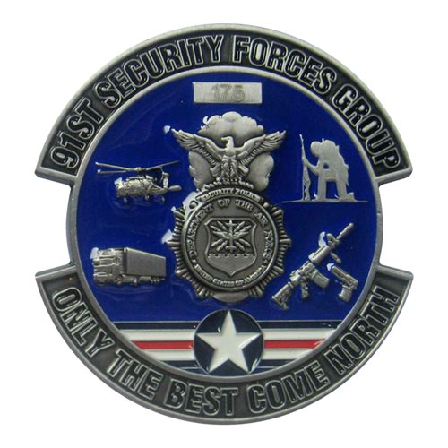 91 SFG Commander Challenge Coin - View 2