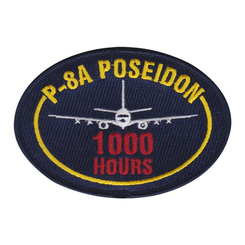 CPRW-10 P-8A Poseidon 1000 Hours Patch