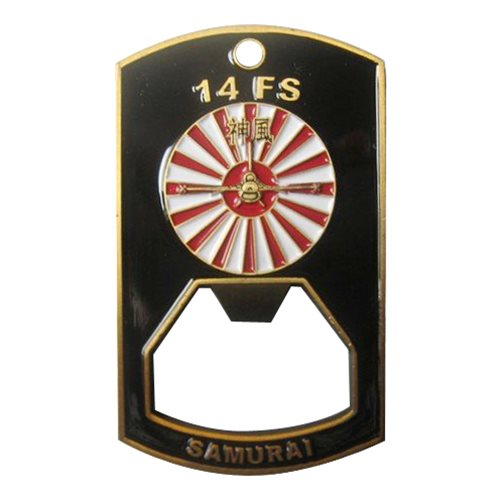 14 FS Custom Air Force Bottle Opener