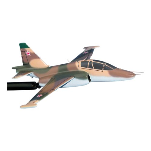 Russian SU-25 Custom Airplane Model Briefing Sticks - View 2