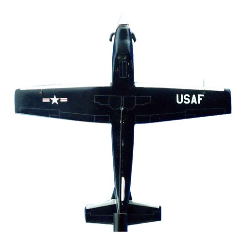 8 FTS T-6A Texan II Airplane Model Briefing Stick - View 3