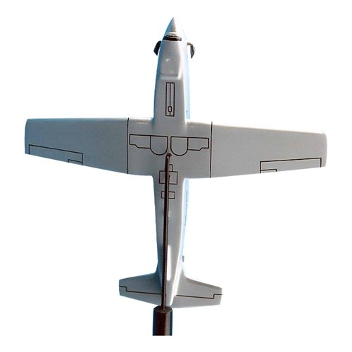 IQAF T-6A Texan II Airplane Model Briefing Stick - View 3