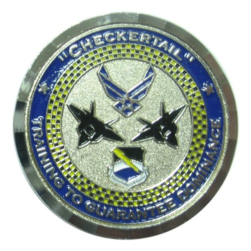 325 FW Command Chief Custom Coin - View 2