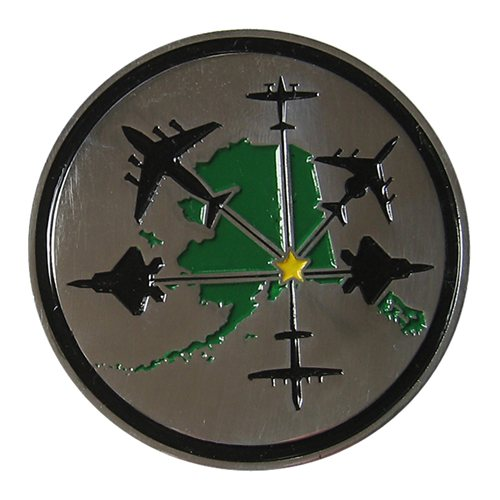 3 OSS Custom Air Force Challenge Coin - View 2