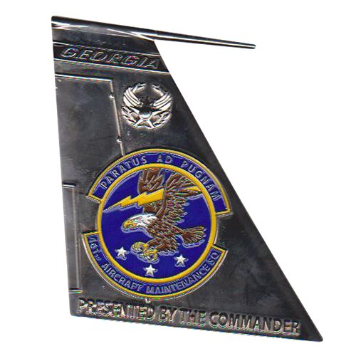 461 AMXS Custom Air Force Challenge Coin