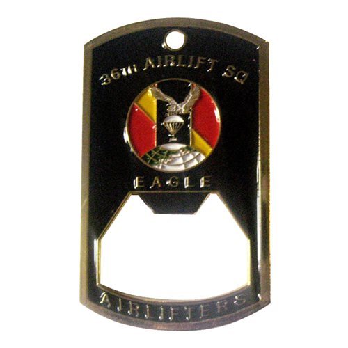 36 as bottle opener coin 36th airlift squadron. Black Bedroom Furniture Sets. Home Design Ideas