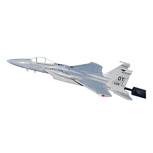 85 TES F-15C Custom Airplane Model Briefing Stick