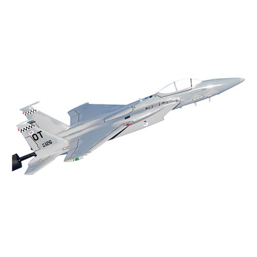 85 TES F-15C Custom Airplane Model Briefing Stick - View 2