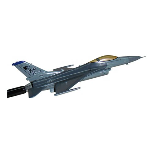 35 FS F-16C Airplane Briefing Stick - View 3