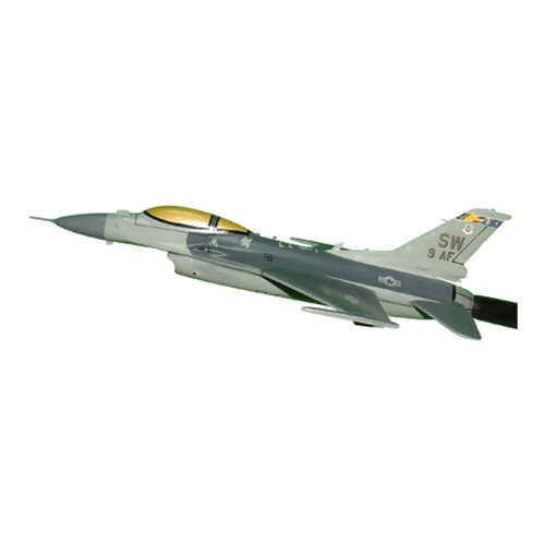 9 AF F-16C Airplane Briefing Stick - View 2