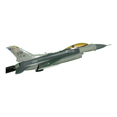 9 AF F-16C Airplane Briefing Stick - View 3