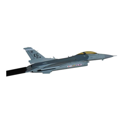 46 TW F-16C Custom Airplane Model Briefing Sticks - View 3