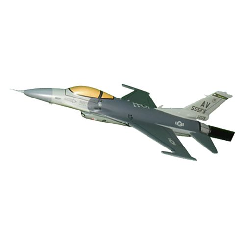 555 FS F-16C Custom Airplane Model Briefing Sticks