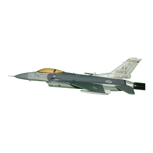 555 FS F-16C Custom Airplane Model Briefing Sticks - View 2