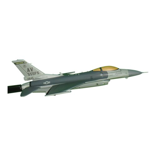 555 FS F-16C Custom Airplane Model Briefing Sticks - View 3